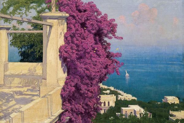 Edward Perch. Capri