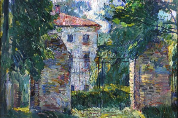 Petr Petrovich Konchalovsky. House Belkin