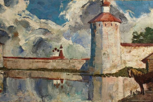 Anatoly Nikolayevich Talalayev. Kirillo-Belozersky monastery