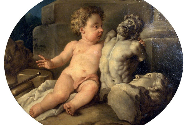 Jean Francois De Troyes. Allegory of the sculpture.