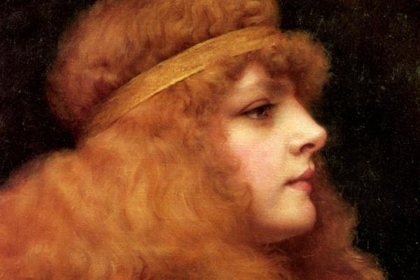 Джон Уильям Годвард. Рыжая красавица