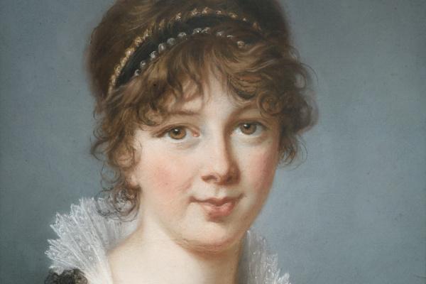 Elizabeth Vigee Le Brun. Portrait of Mrs. Spencer Perceval