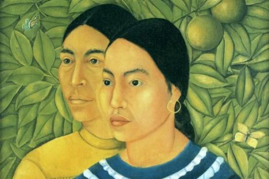 Frida Kahlo. Two women (El Salvador and Erminia)