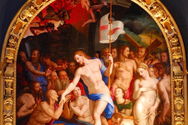 Аньоло Бронзино. Христос в чистилище