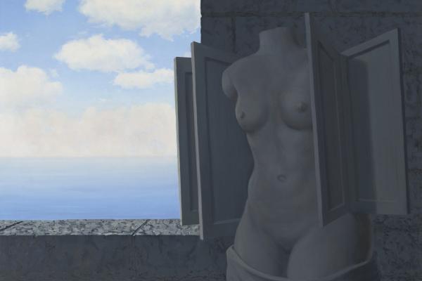 René Magritte. La statue volante