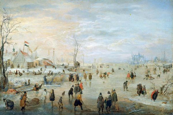 Хендрик Аверкамп. Ледяной край