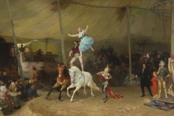 Фредерик Артур Бриджмен. Американский цирк во Франции