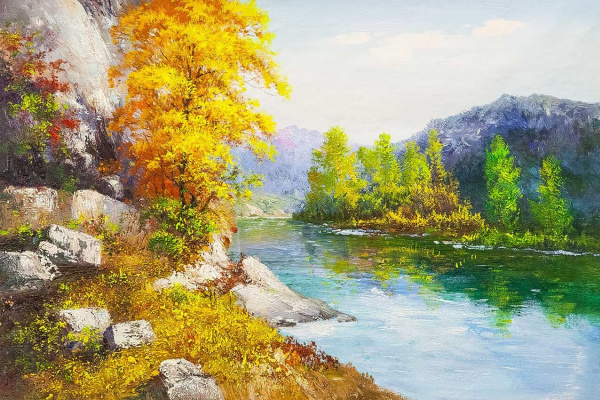 Andrey Sharabarin. Autumn in the Altai Mountains