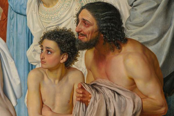 Александр Андреевич Иванов. Явление Христа народу ( фрагмент )