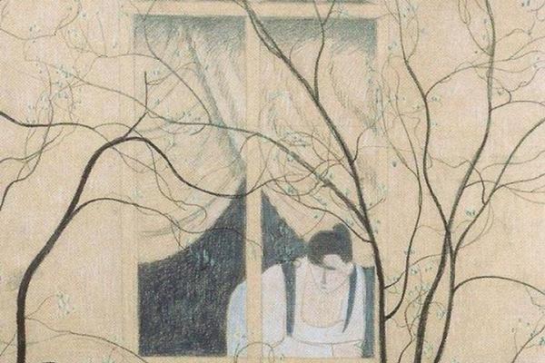 Leon Spilliaert. Woman at the window