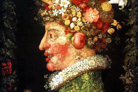 Джузеппе Арчимбольдо. Цветы