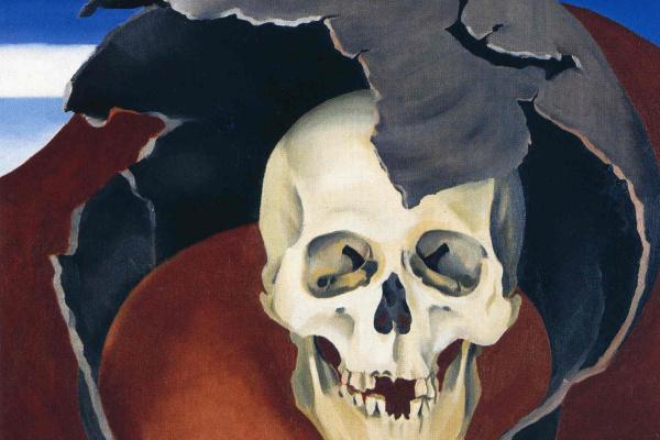 Джорджия О'Киф. Человеческий череп