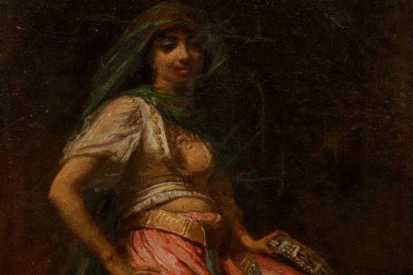 Фредерик Артур Бриджмен. Алжирская танцовщица.