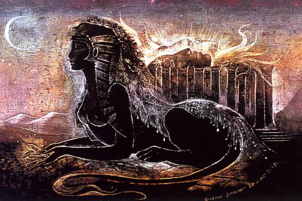 Susan Seddon Boulet. Black Sphinx