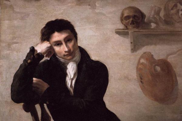 Теодор Жерико. Портрет художника в студии