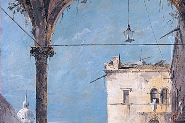 Франческо Гварди. Венецианский портик