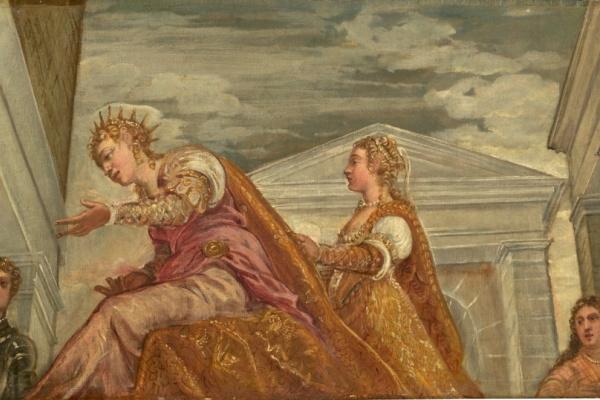 Jacopo Tintoretto. Solomon and the Queen of Sheba