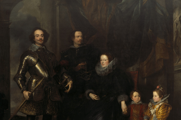 Anthony van Dyck. Portrait of the family of Lomellini