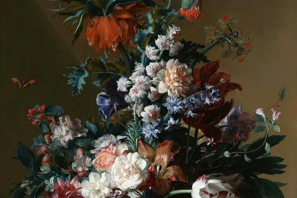 Ян ван Хейсум. Цветы в вазе