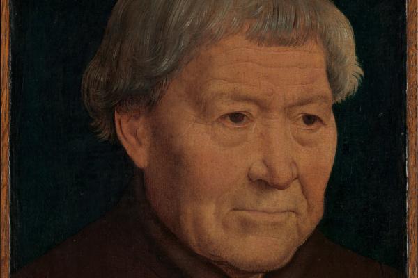 Hans Memling. Portrait of an old man