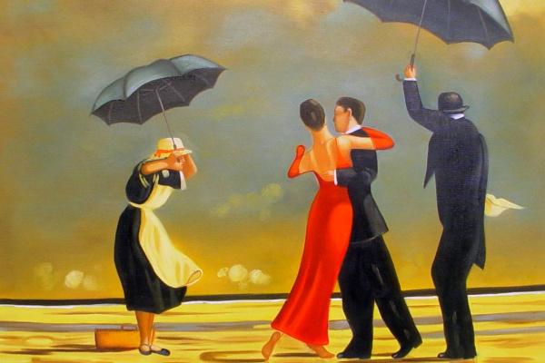 Джек Ветриано. Танго под зонтом