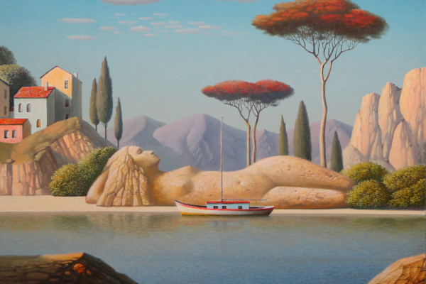 Evgeni (Евгений) Яковлевич Gordiets (Гордиец). Dream by The Red Tree