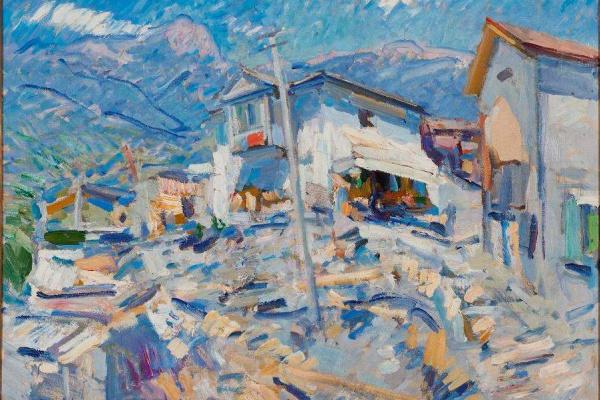 Konstantin Alekseevich Korovin. Crimean landscape