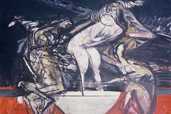 Vasily Ryabchenko. Susanna and the elders