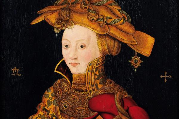 Франц Вольфганг Рорих. Портрет знатной дамы с сыном (Портрет принцессы Софии и принца Иоганна Саксонского)