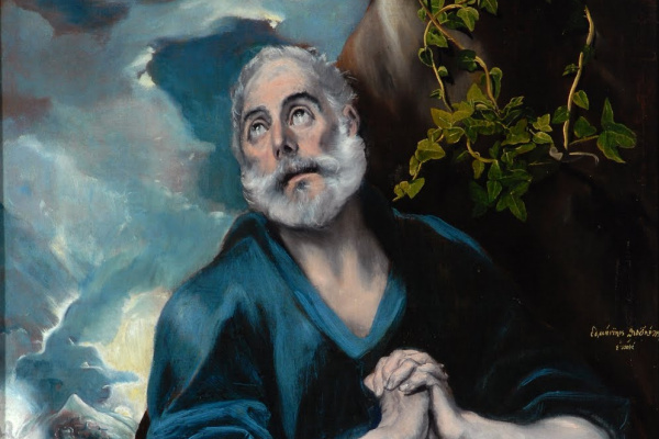 Domenico Theotokopoulos (El Greco). Tears of St. Peter