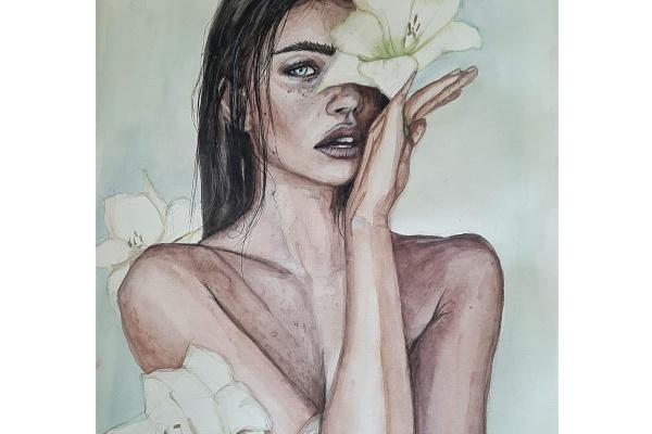 Veronica Savostina. Lightness and tenderness