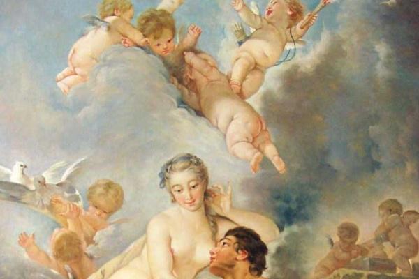 Франсуа Буше. Визит Венеры к Вулкану
