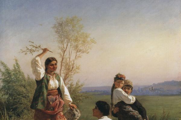 Константин Александрович Трутовский. Через кладку