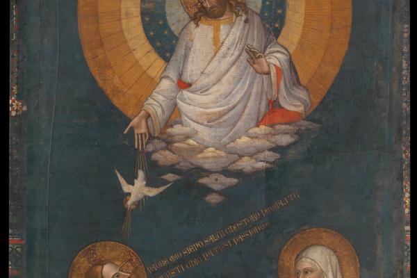 Лоренцо Монако. Заступничество Христа и Девы Марии