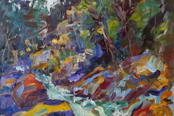 Ливиу Хынку. Водопад