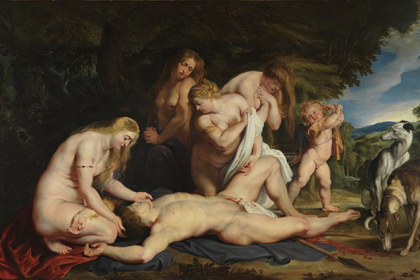 Peter Paul Rubens. The Death Of Adonis