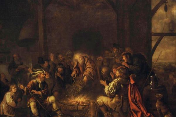 Ян Минсе Моленар. Апостол Павел на острове Мелите