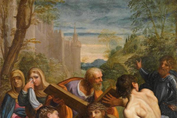Гвидо Рени. Христос, несущий крест