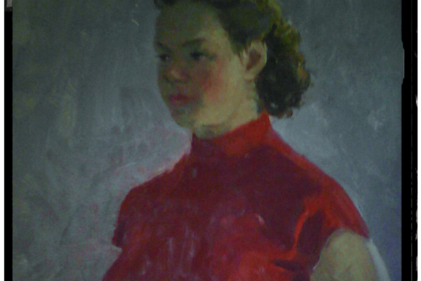 Аркадий Александрович Рылов. Женщина
