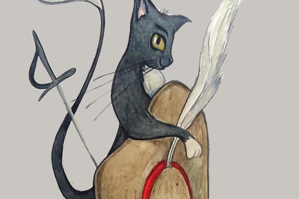 Lera Lera. The booted cat