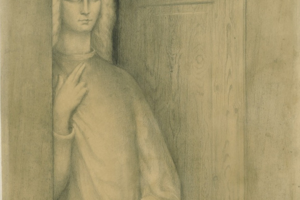 Jean Delville. Expectation
