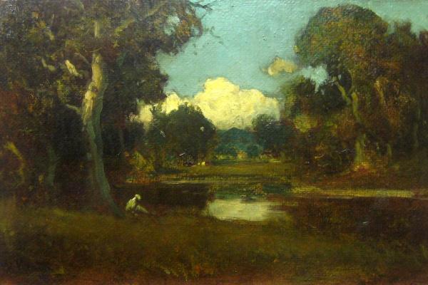 William Keith. The oaks in Berkeley