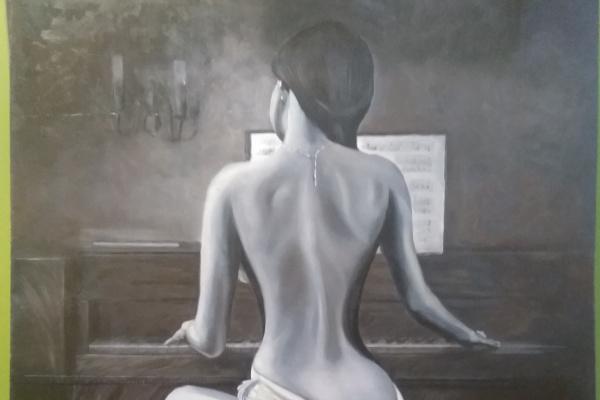 Olga Olegovna Sergeeva. Girl Pianist
