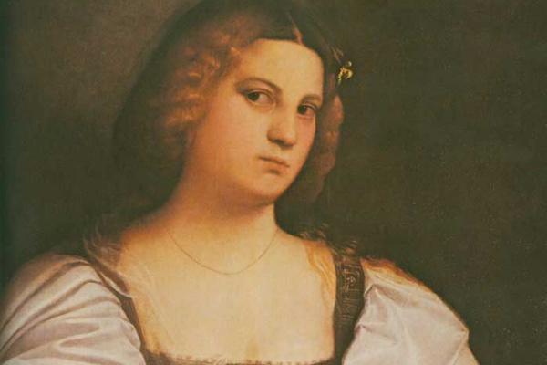 Джованни Кариани. Женский портрет Виоланте
