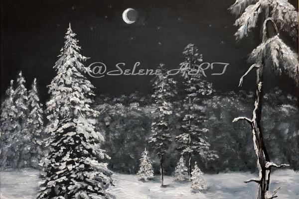 Elena Sh. Зимняя ночь