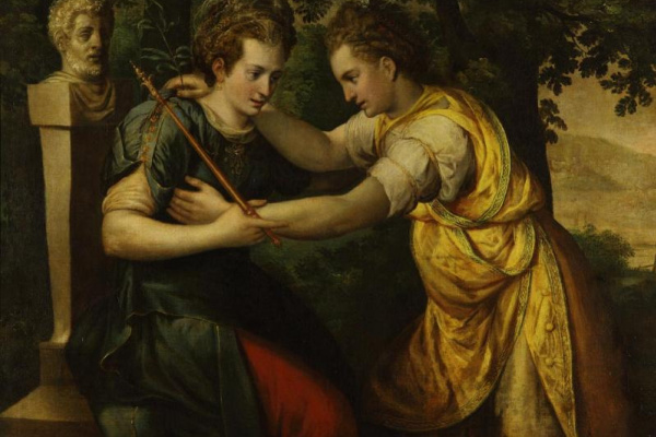 Frans Floris. Allegory of peace and justice