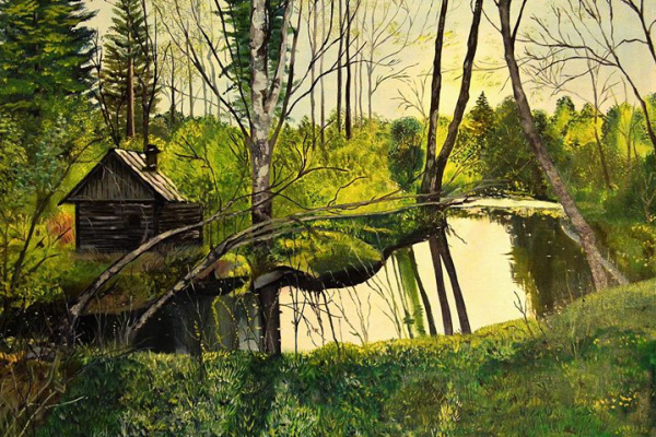 Андреева Л. Ф.. Домик у реки
