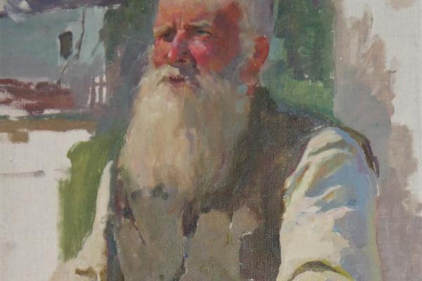 Вячеслав Васильевич Токарев. Старик.