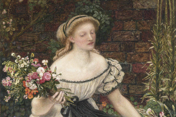 Ford Madox Brown. A small bouquet