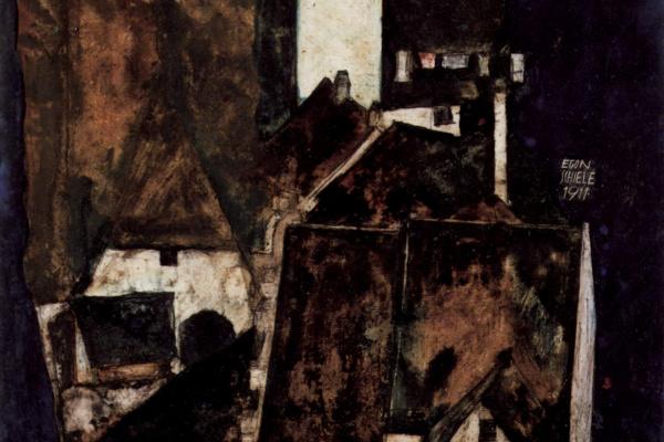Эгон Шиле. Мертвый город